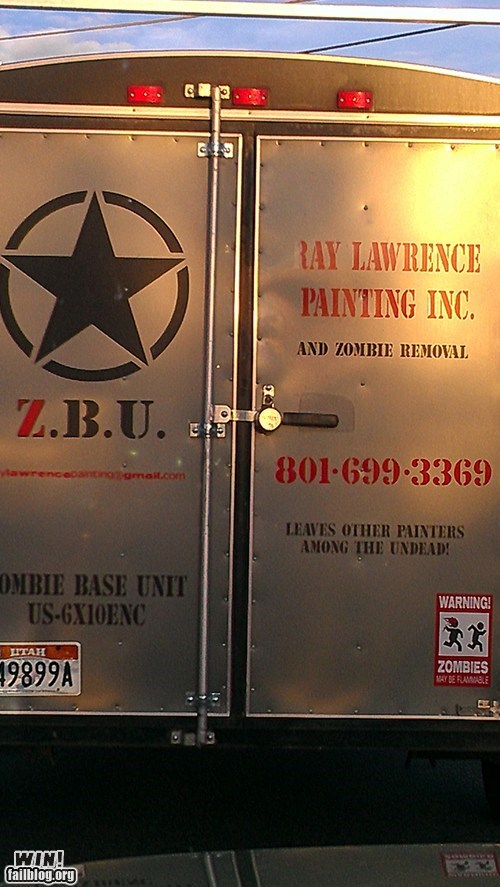 zombie truck DIY handyman - 7148583424