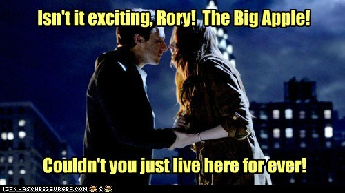 the ponds,doctor who,the angels take manhattan