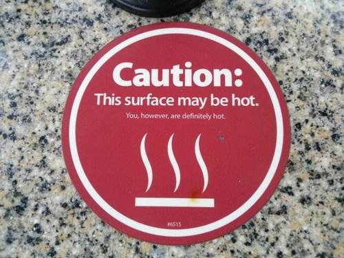 compliment warning sign nice - 7148923904