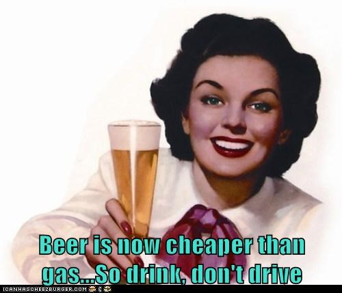 beer,gas,drinking and driving