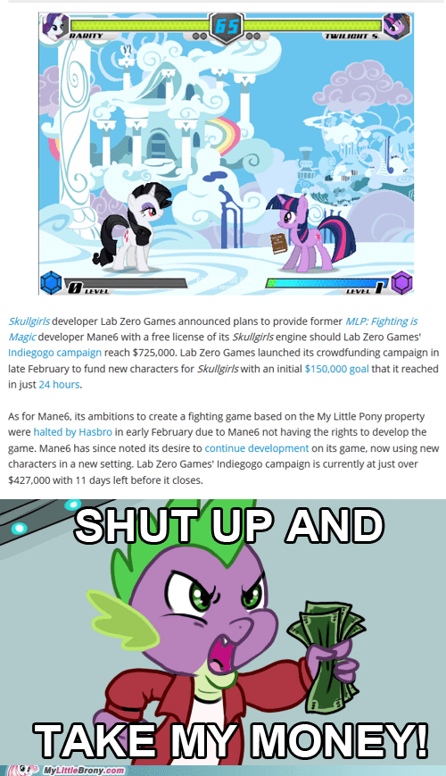 mane6,fighting is magic,video games