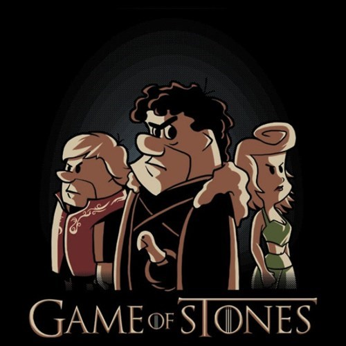 the flinstones crossover Game of Thrones for sale t shirts - 7149253888