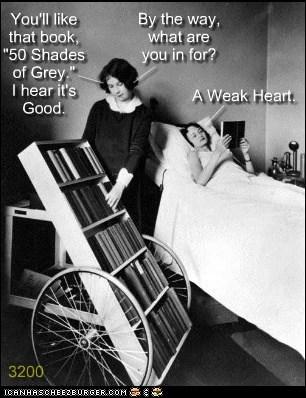 wheels hospitals books 50 shades of grey - 7149485824