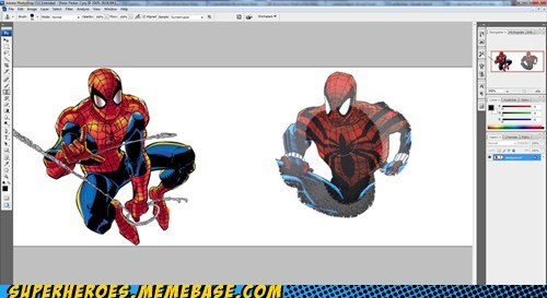 Spider-Man clone photoshop tool - 7149751040