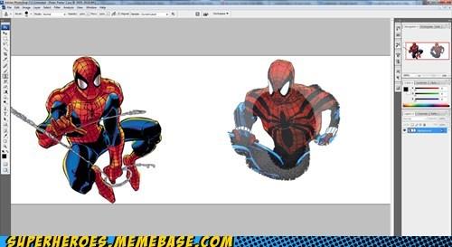 Spider-Man clone photoshop tool - 7149751040