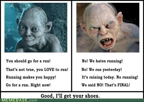 gollum,running,Sméagol