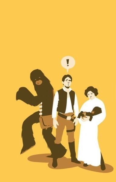star wars chewbacca Han Solo Princess Leia g rated Parenting FAILS - 7150238208