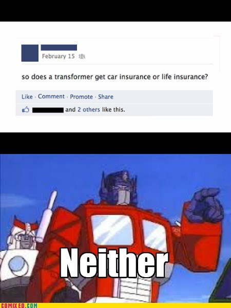 transformers insurance in this economy comics - 7150258176