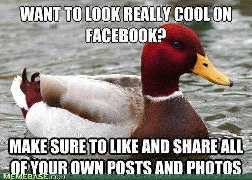 like,facebook,malicious advice mallard