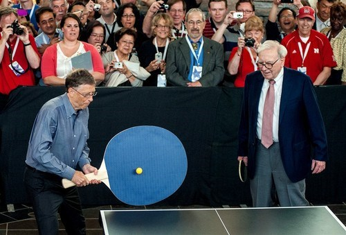 your argument is invalid Bill Gates ping pong - 7150286848