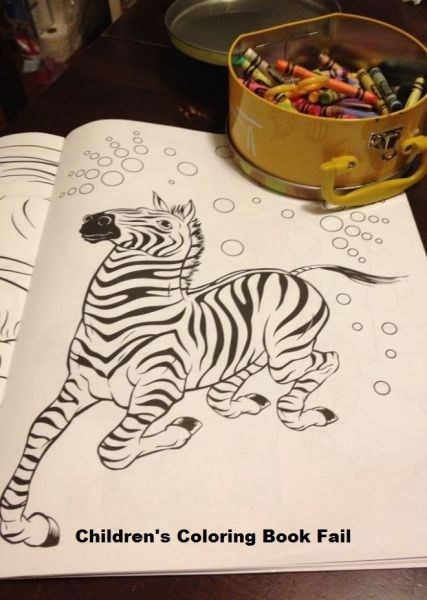 zebra art coloring book crayons coloring - 7150304768