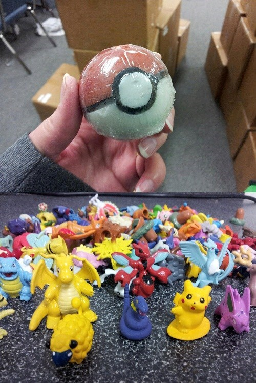 Pokeballs,IRL,soap