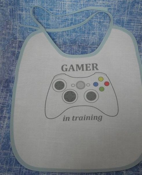 gamer,bib,gamer baby,g rated,Parenting FAILS