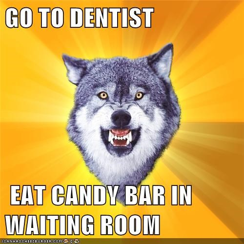 candy dentists Courage Wolf - 7150435328