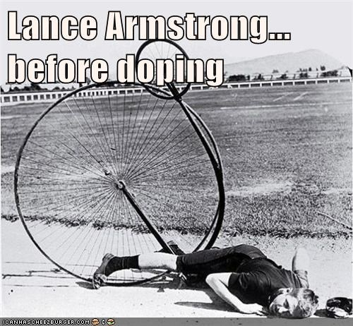 Lance Armstrong... before doping