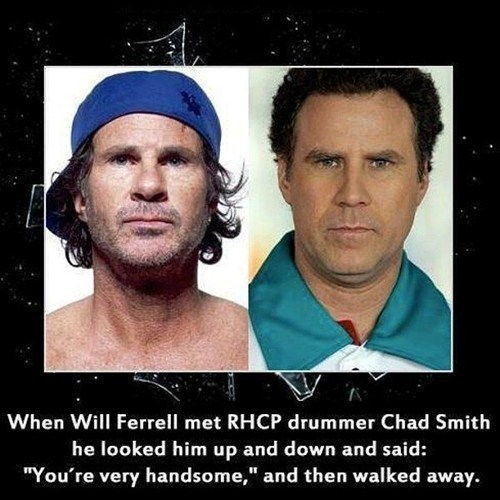 chad smith totally looks like Will Ferrell - 7150507776