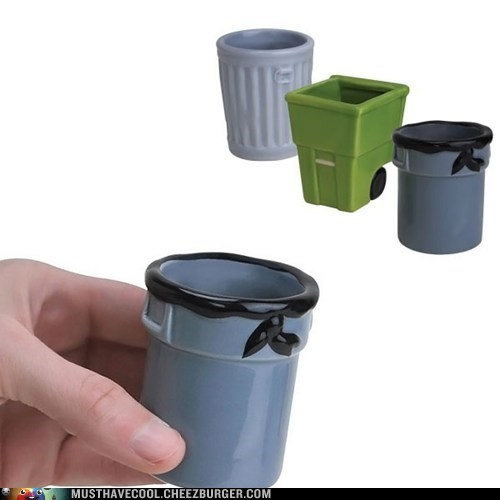shot glass design trash can - 7150562560