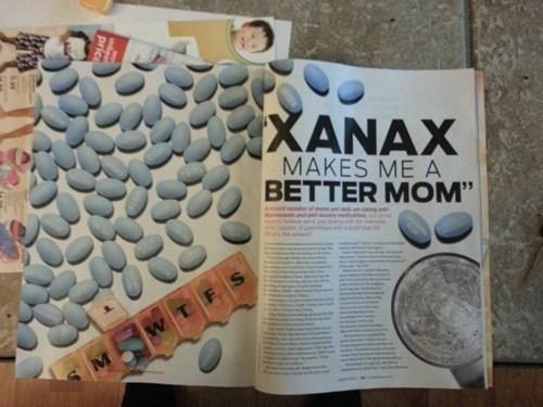 pills,stress,xanax