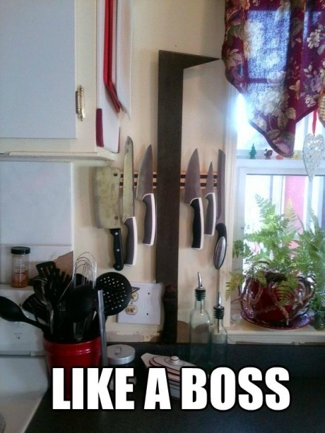 Like a Boss,knife