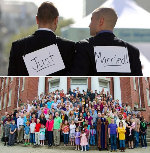 Restored Faith in Humanity of the Day: North Carolina Church Boycotts Marrying People Until Gays Can Marry