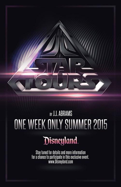 JJ Abrams star wars Star Tours disneyland - 7151601408