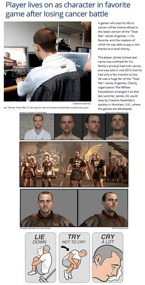 IRL total war tears video games restoring faith in humanity week - 7152619776
