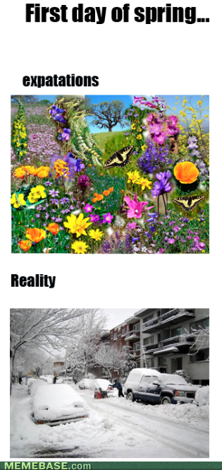 spring,expectations vs reality,weather