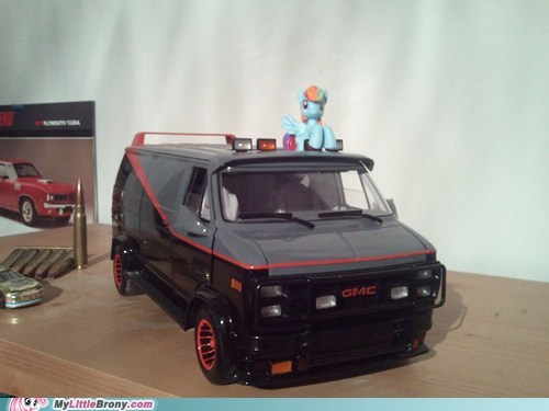 the a-team toys IRL rainbow dash - 7152989696