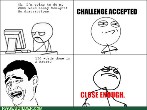 studying homework Challenge Accepted Close Enough essay - 7153232896