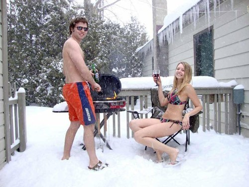 snow grilling bikinis swimsuits - 7153239808