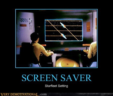 starfleet screen saver Star Trek