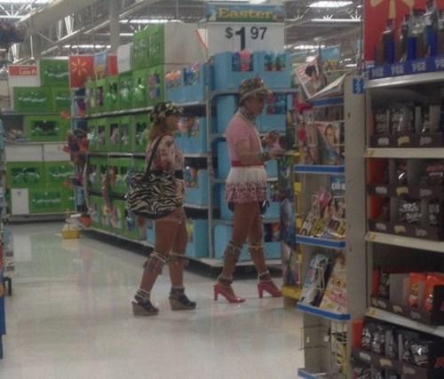 crossdressers Walmart high heels - 7153249024