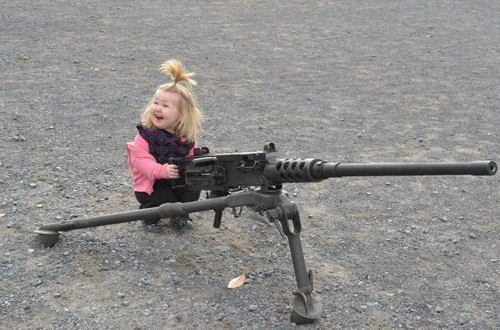 guns,military,machine guns,g rated,Parenting FAILS