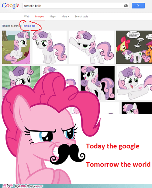 google search Sweetie Belle pinkie pie - 7153408512