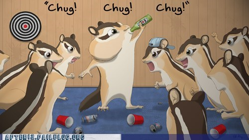 chug crunk critters squirrel animals - 7153415936