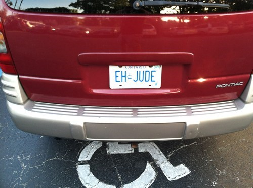 the Beatles,license plates,hey jude