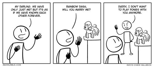 ponies,toys,comics,parenting,rainbow dash