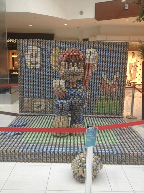 canned food IRL mario win - 7153635072