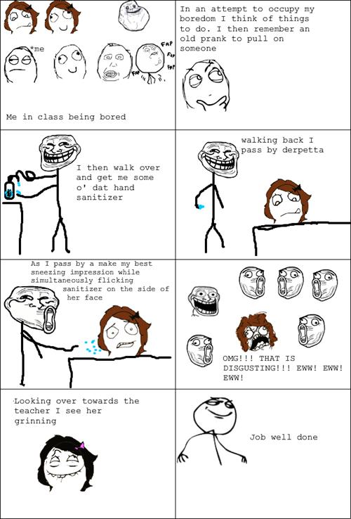gross trolling sneezing - 7153677568