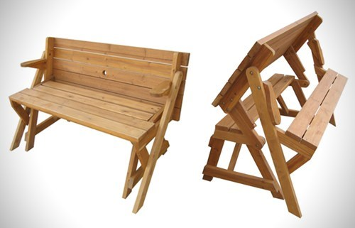 furniture transformer bench