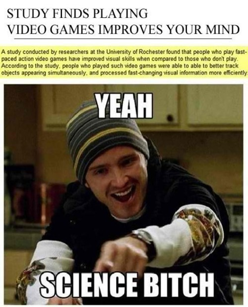 gamers,science,video games