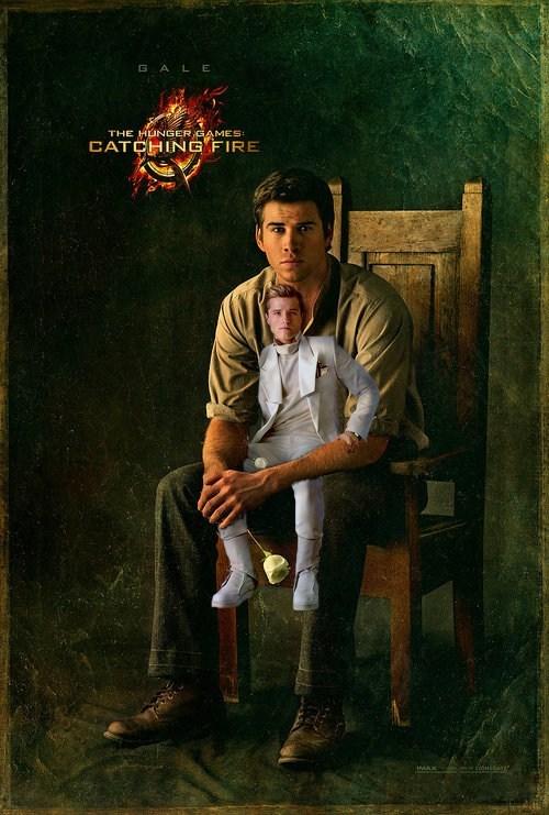 movies posters liam hemsworth catching fire josh hutcherson - 7153889536