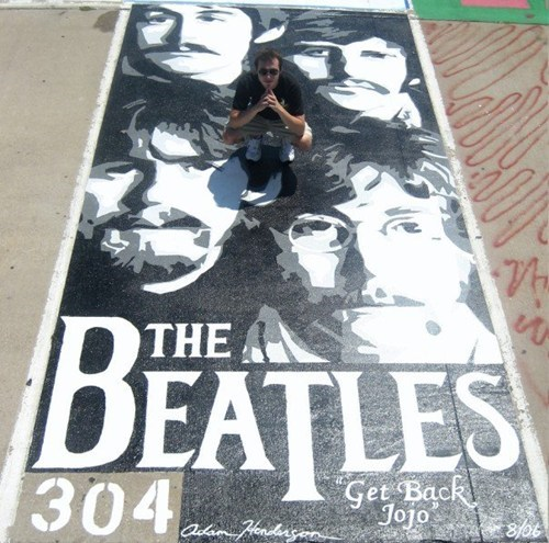 Music beatles Street Art - 7154077440