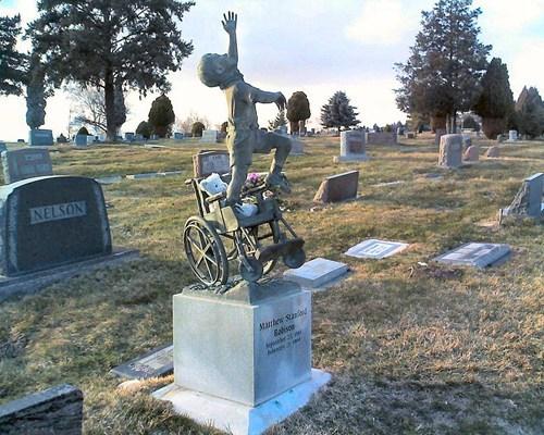 gravestone disability warm and fuzzy inspirational - 7154081792