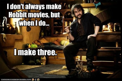 peter jackson movies The Hobbit - 7154432256