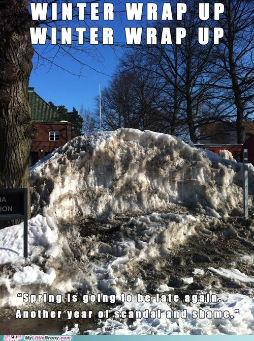 spring snow winter wrap up - 7154973440