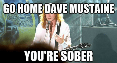 megadeth sobriety dave mustaine - 7155417856