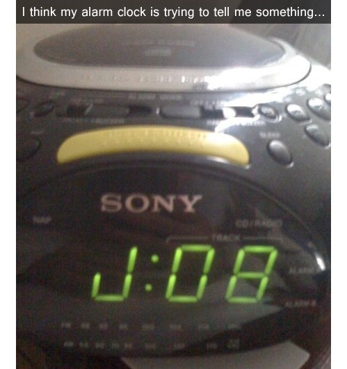 jobs alarm clocks waking up monday thru friday g rated - 7155484928