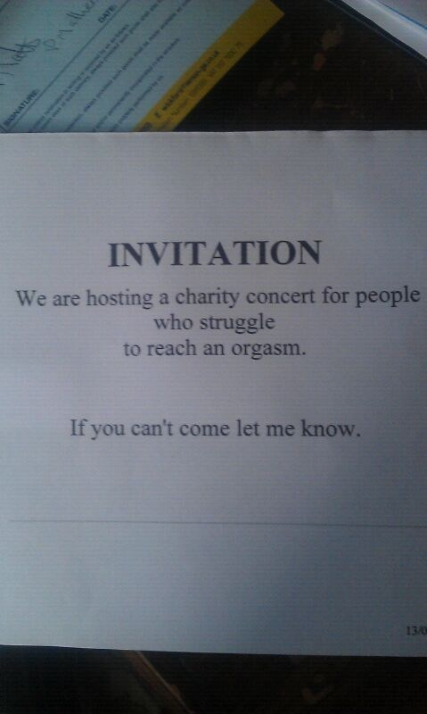 invitation rsvp Party