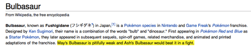 may,bulbasaur,wikipedia